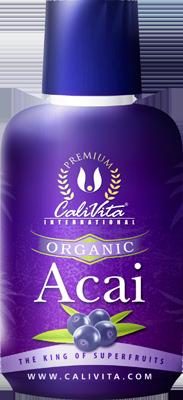 Organic Acai CaliVita 473 ml.
